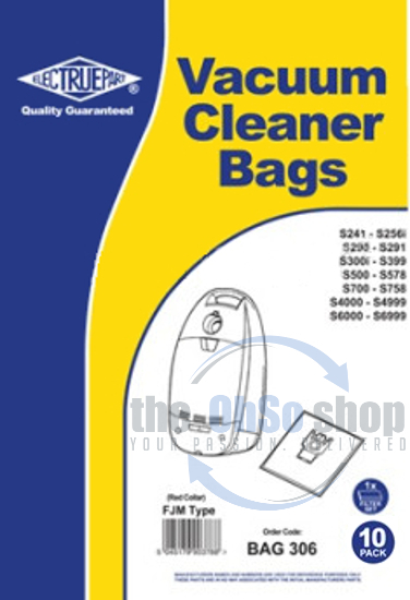10 x FJM Hoover Dust Bags for Miele S715 S716 S716-1 UK Stock